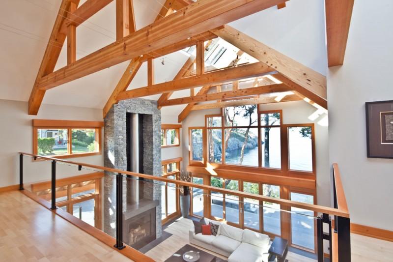 Houtbouw nederland u houten huis interieur